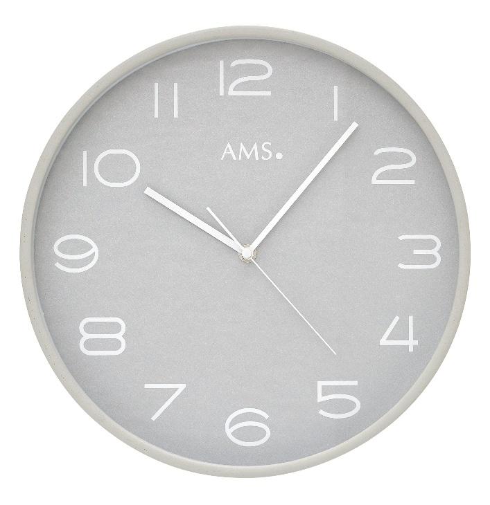 Designerski Zegar ścienny 5521 Ams 32cm Zegary Sciennepl