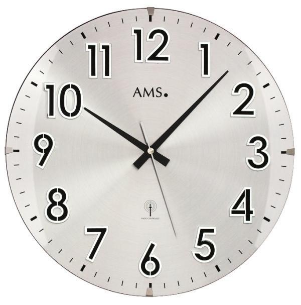 Zegar ścienny 5973 Ams Sterowany Radiowym Sygnałem 32cm